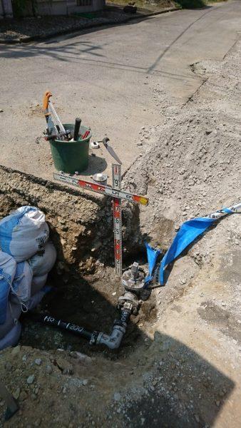 配水管布設替工事